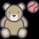 ours peluche jouet cc4r