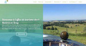 Nouveau : Le site internet de l'Office de Tourisme des 4 Rivières en Bray