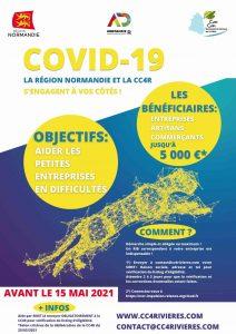 Covid-19 La région Normandie et la Cc4r s'engagent à vos cotés