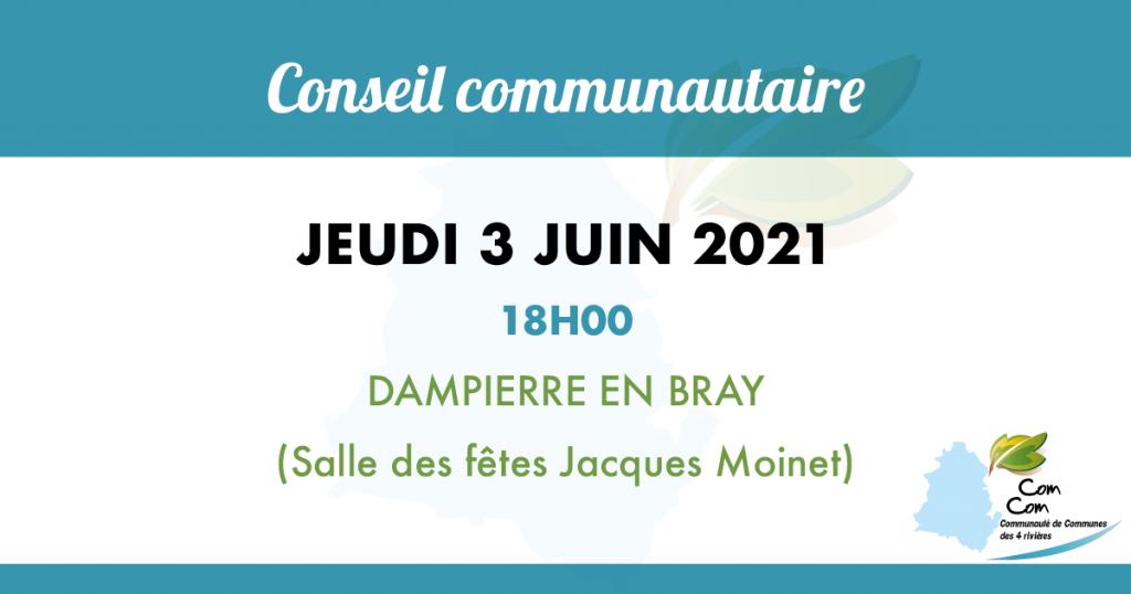 visuel conseil communautaire du 3 juin 2021