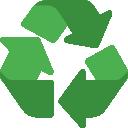icone de recyclage qui represente le sieom de gournay en bray